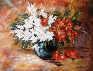 Bloemen schilderijen
